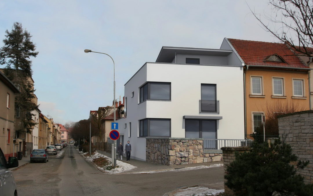 Rodinný dům Brno – Slezská