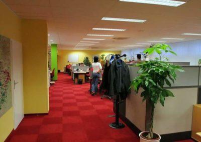 Vodafone Brno – interiéry kanceláří