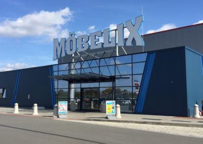 XXXLutz + Möbelix Modřice