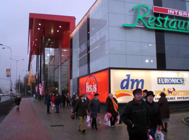 Ostrava Poruba – Obchodní centrum INTERSPAR
