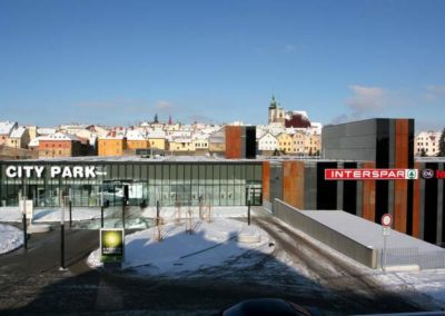 City Park Jihlava – INTERSPAR (supermarket)