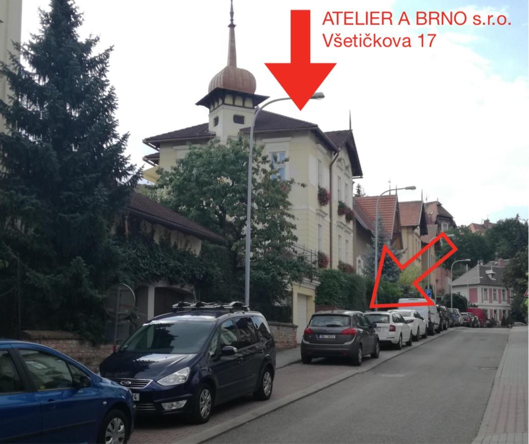 ATELIER A BRNO s.r.o. | Všetičkova 17, 602 00 Brno