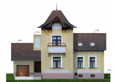 Restoration of a villa