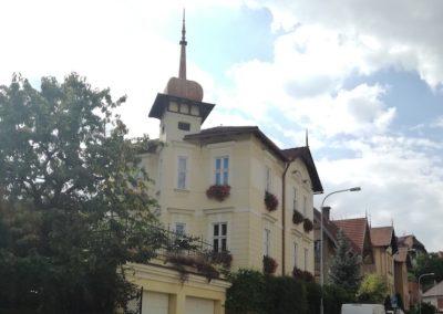 Atelier in der Všetičkova-Straße heute